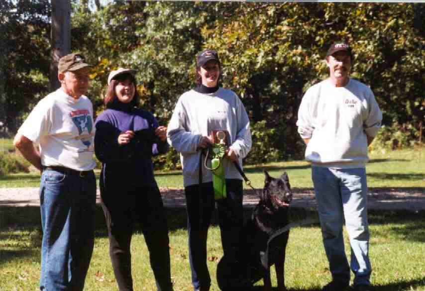 Beaucerons In Tracking - new titles and accomplishments